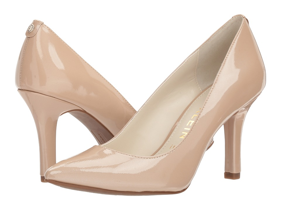 Anne Klein Faelyn (Natural Patent Leather) Women's Shoes