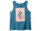 Roxy Kids Shining Sun Cactus Tank Top (Toddler/Little Kids/Big Kids)