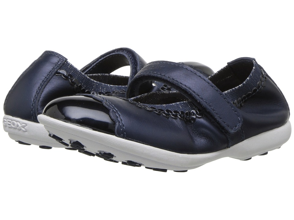 Geox Kids - Jodie 85 (Toddler/Little Kid) (Navy) Girls Shoes