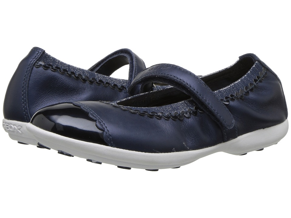 Geox Kids - Jodie 85 (Little Kid/Big Kid) (Navy) Girls Shoes