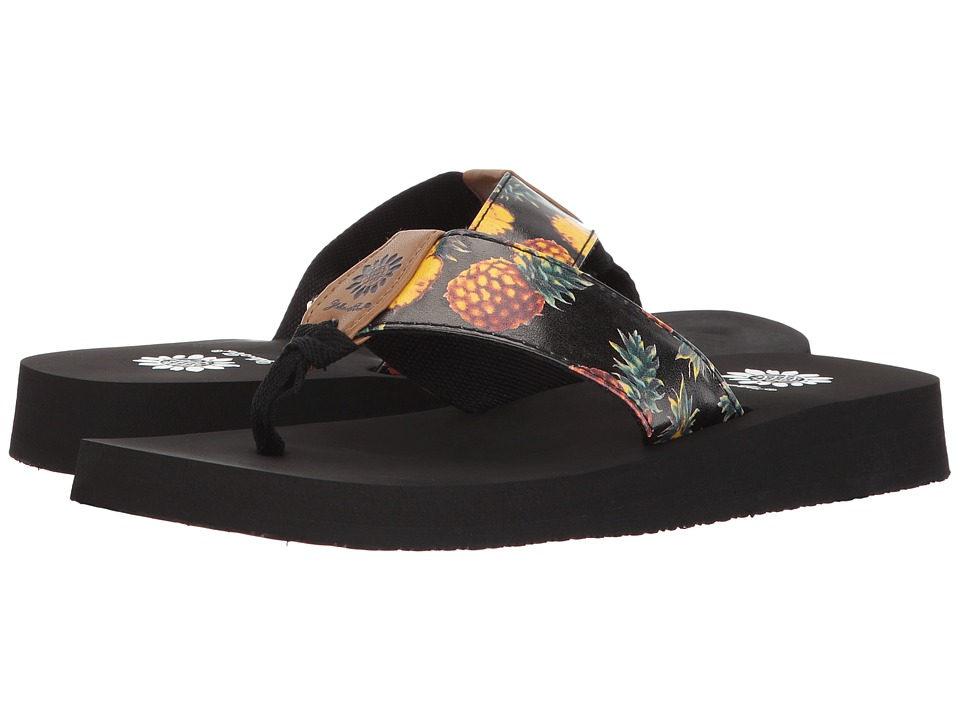Yellow Box - Pina Colada (Black) Women's Sandals