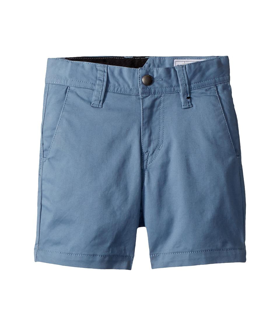 Volcom Kids - Frickin Lightweight Shorts (Toddler/Little Kids) (Wrecked Indigo) Boys Shorts