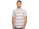Original Penguin Short Sleeve Yarn-Dye Stripe Woven Shirt