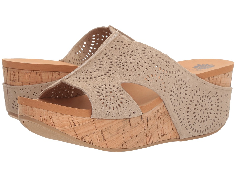 Yellow Box - Sawyer (Taupe) Women's Sandals