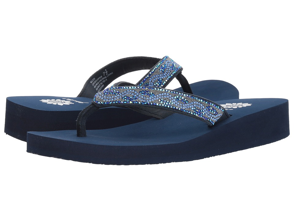 Yellow Box - Wilcox (Navy) Women's Sandals