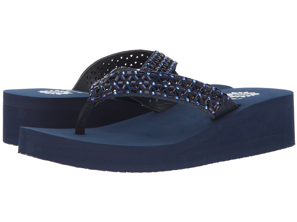 Yellow Box - Wain (Navy) Women's Sandals