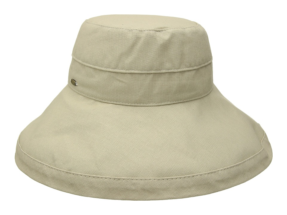 SCALA - Big Brim Cotton Sun Hat