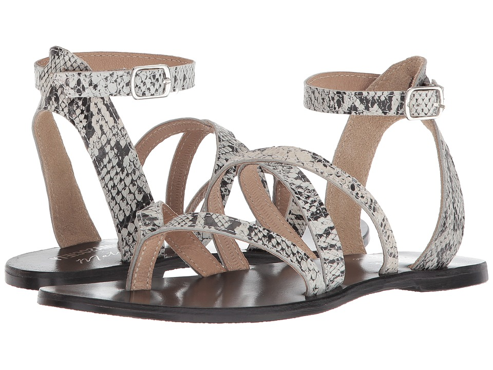 Matisse Ti Amo (Black Snake) Sandals