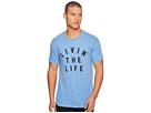 The Original Retro Brand Livin' The Life Short Sleeve Tri-Blend Tee