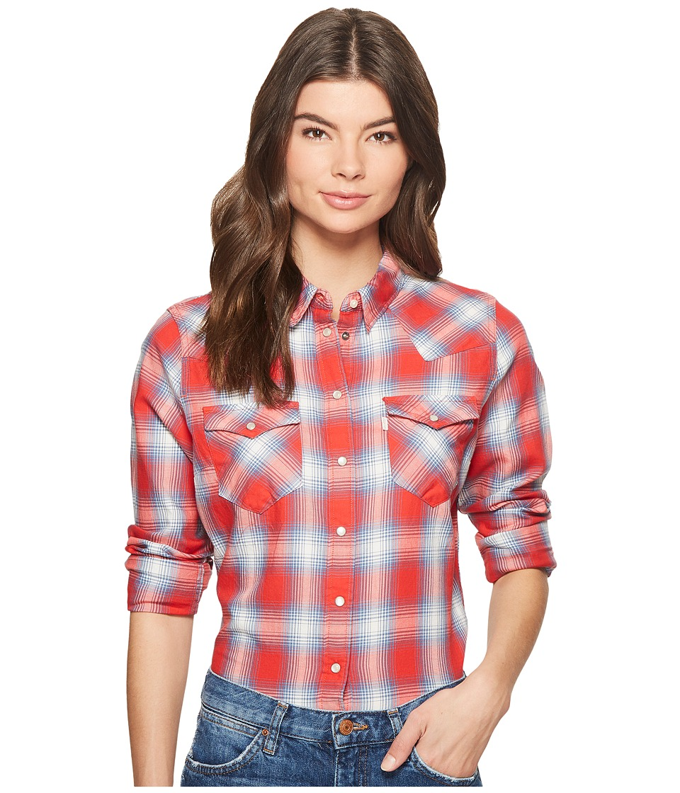 Levis(r) Womens - Tailored Classic Western Shirt (Elm Cloud Dancer) Womens Clothing