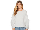 TWO by Vince Camuto Long Ruffled Sleeve French Terry Top