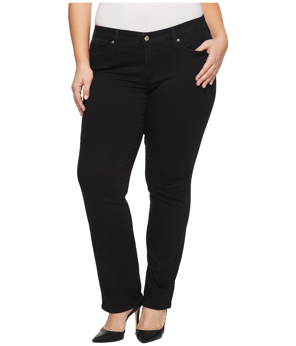 Levis(r) Plus - 414 Classic Straight (Soft Black) Womens Jeans