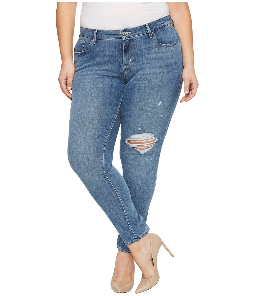 Levis(r) Plus - 711 Skinny (Outta Time) Womens Jeans