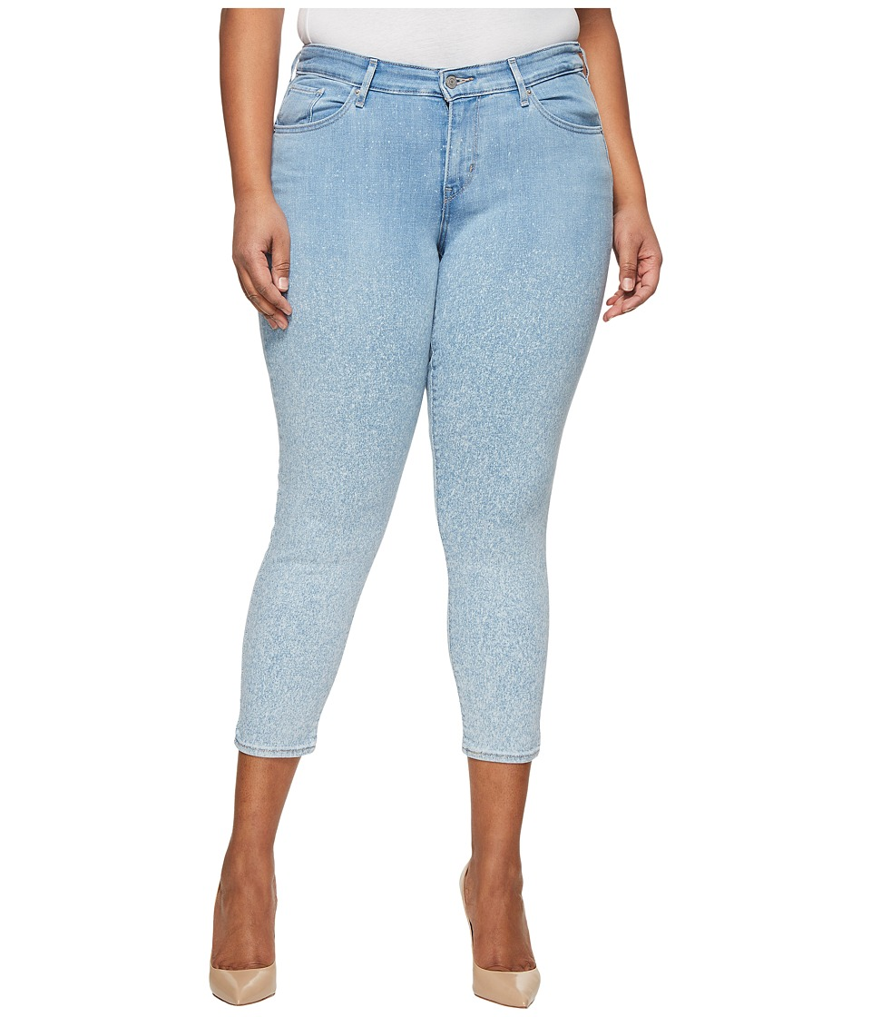 Levis(r) Plus - 711 Skinny Ankle (Lightsaber) Womens Jeans