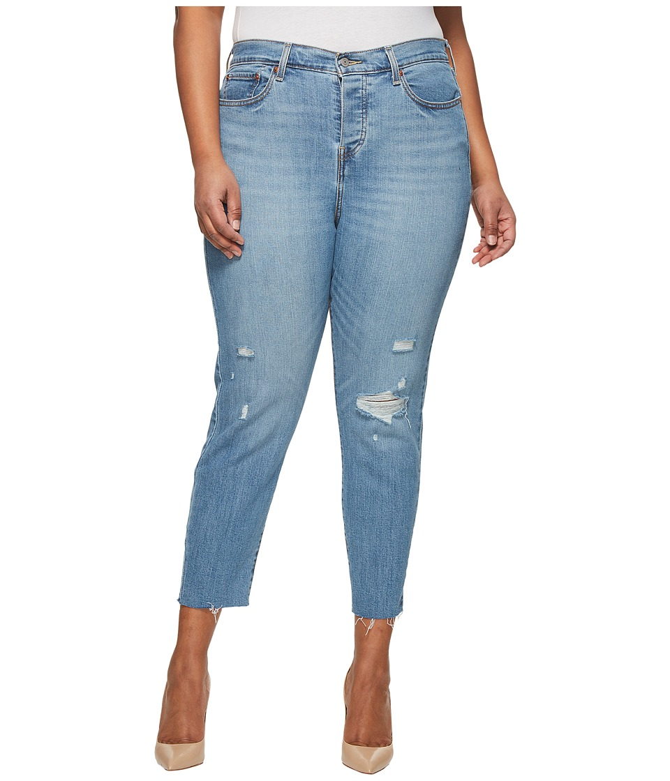 Levis(r) Plus - Wedgie Skinny (Blue Spice) Womens Clothing