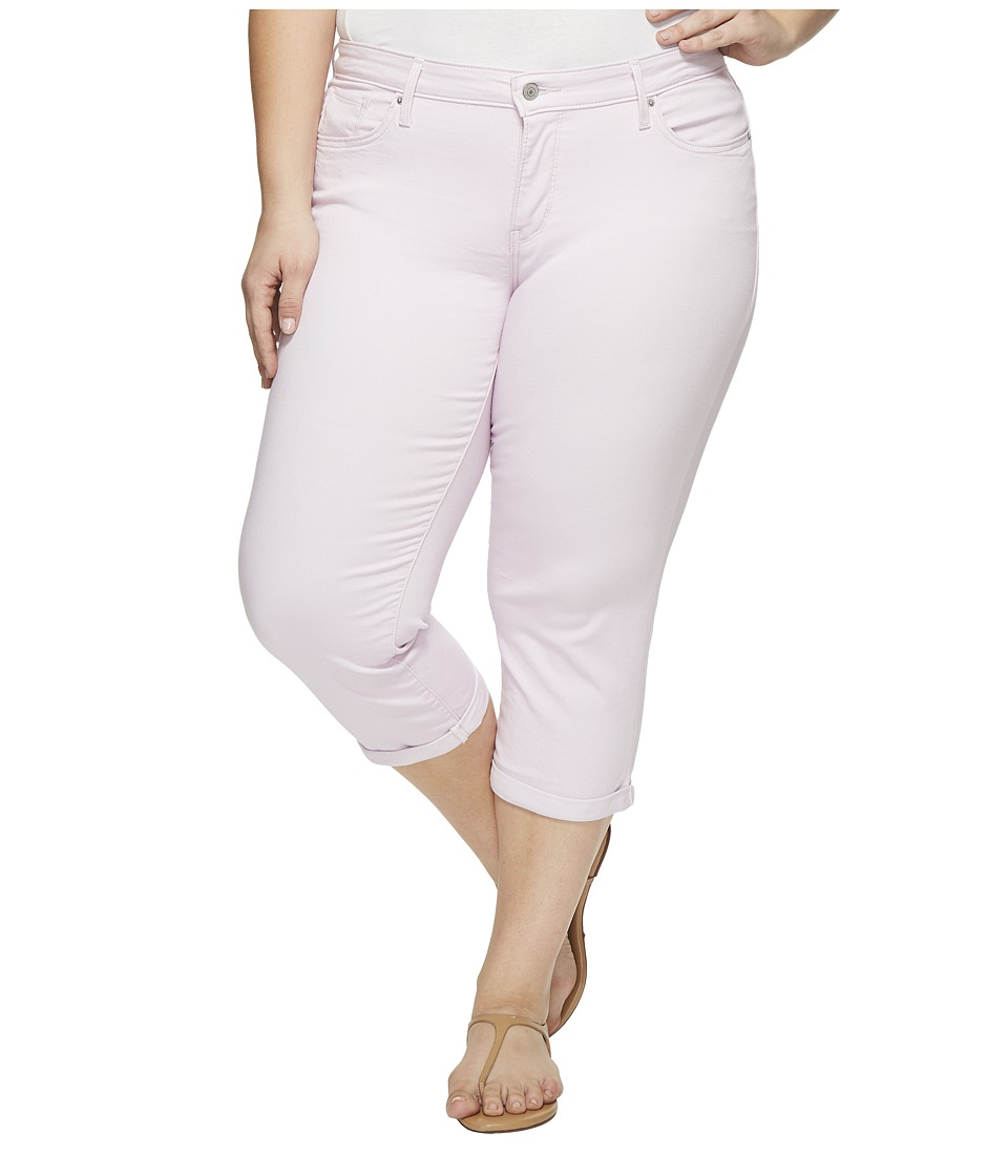 Levis(r) Plus - Shaping Capris (Light Lilac Twill) Womens Jeans