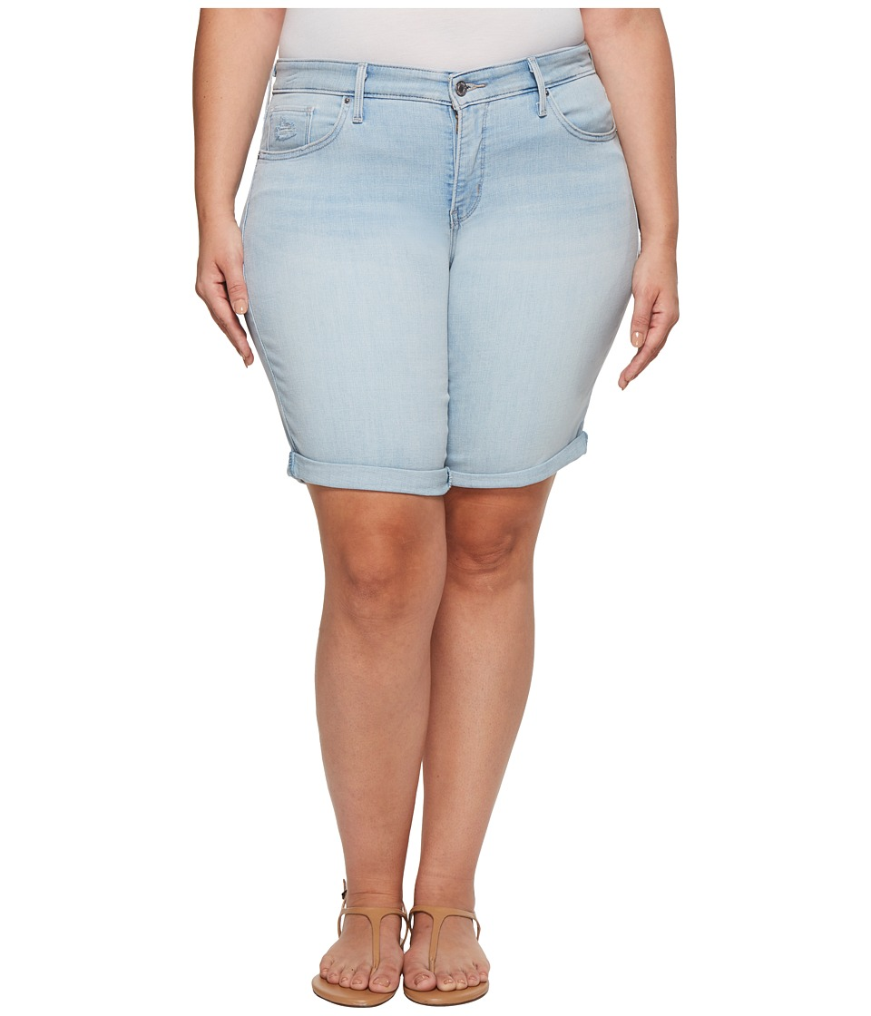 Levis(r) Plus - Shaping Bermuda (Surfside Way) Womens Shorts