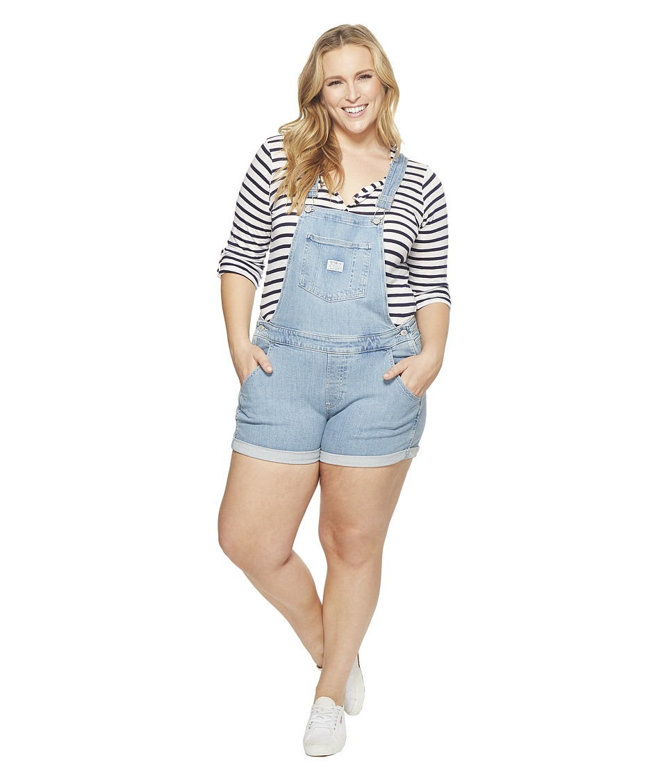 Levis(r) Plus - Shortall (Pretty Fly) Womens Jumpsuit & Rompers One Piece