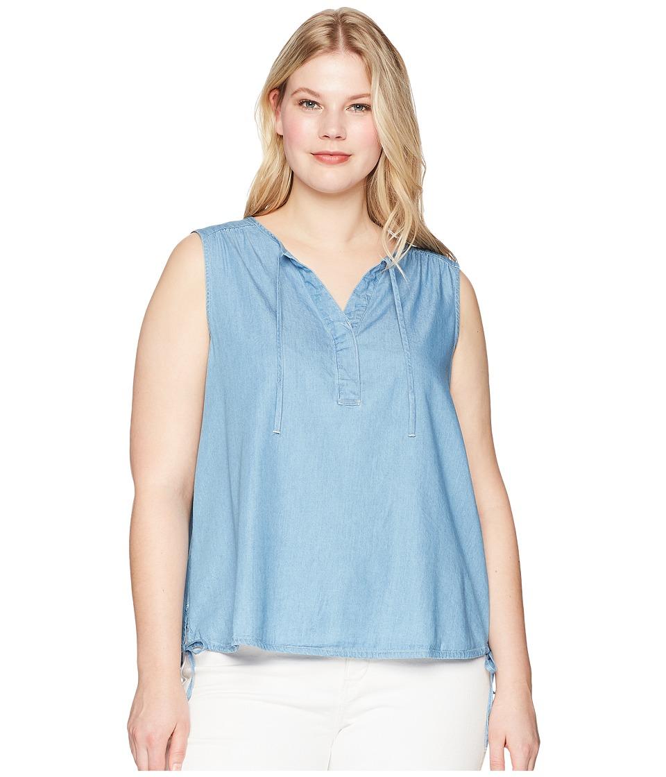 Levis(r) Plus - Jamie Top (Medium Light Wash) Womens Clothing