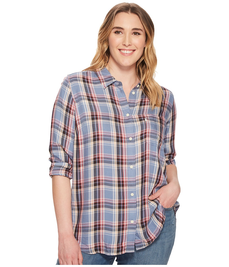 Levis(r) Plus - Ryan One-Pocket Boyfriend (Towhee Infinity) Womens Clothing