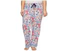 Jockey Plus Size Cotton Jersey Printed Long Pants