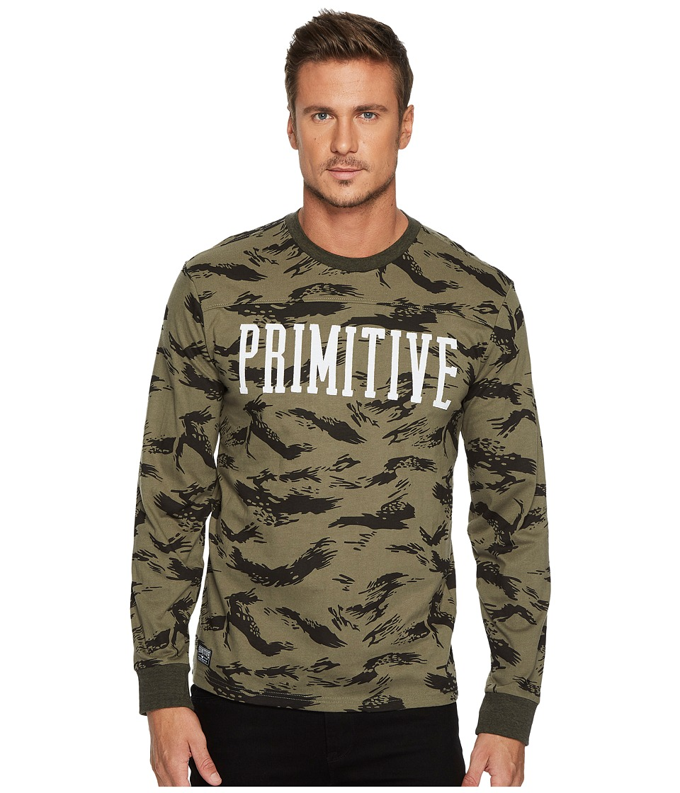 Primitive - Chest Block Long Sleeve Shirt