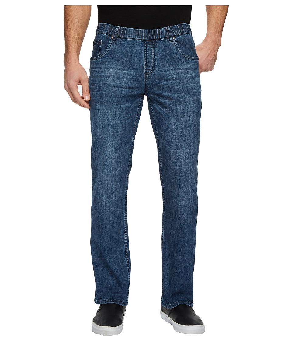 NBZ(r) - Sunrise Blue Elastic Waist Jeans (Sunrise Blue) Mens Jeans