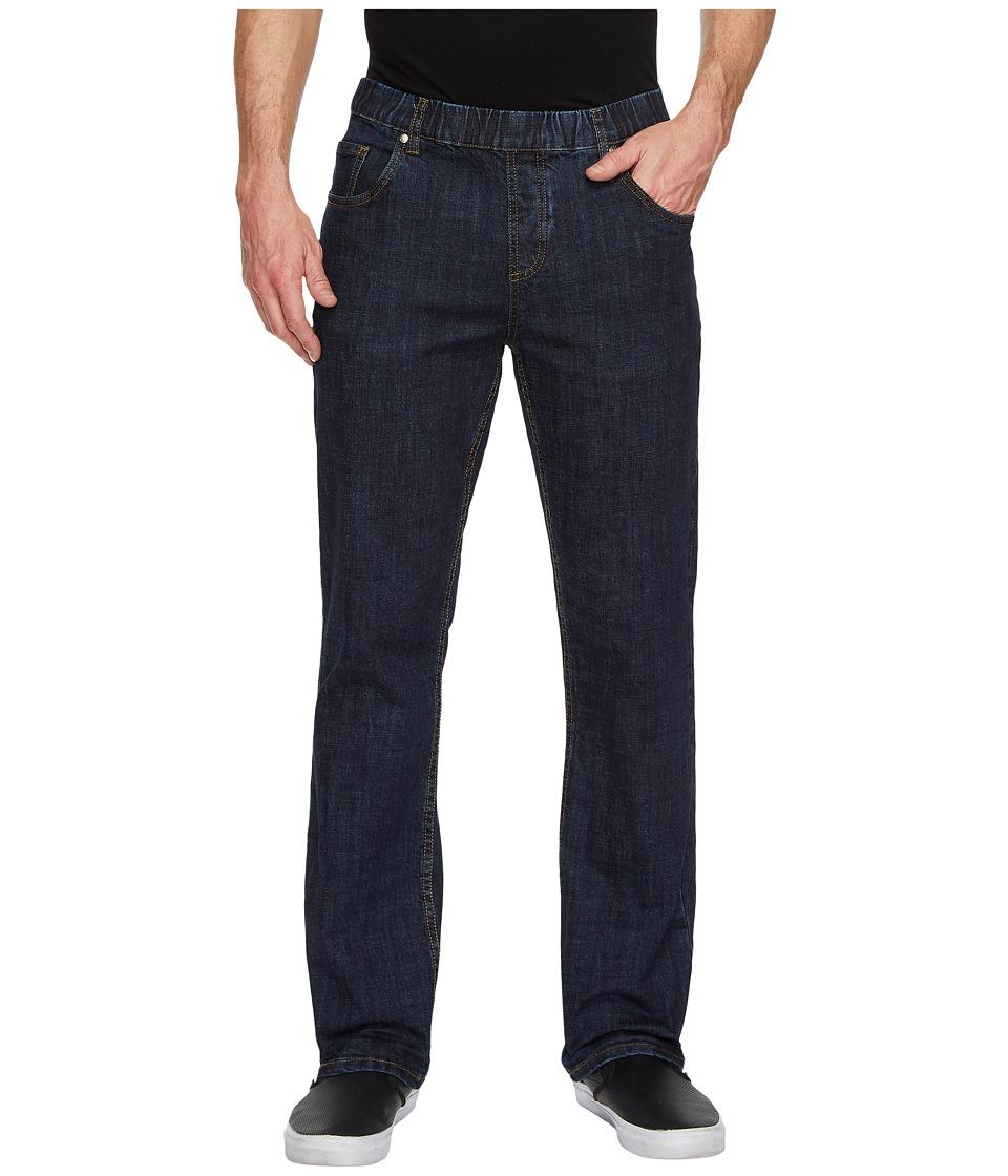 NBZ(r) - Electric Blue Elastic Waist Jeans (Electric Blue) Mens Jeans