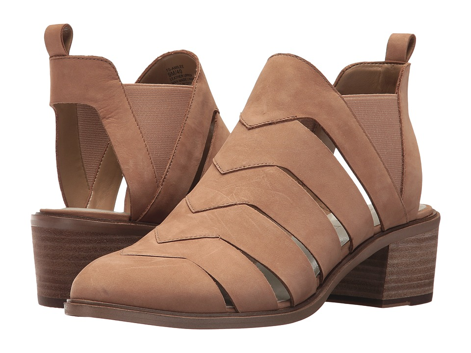 1.STATE - Amilee (Teak Sonoma Leather) High Heels