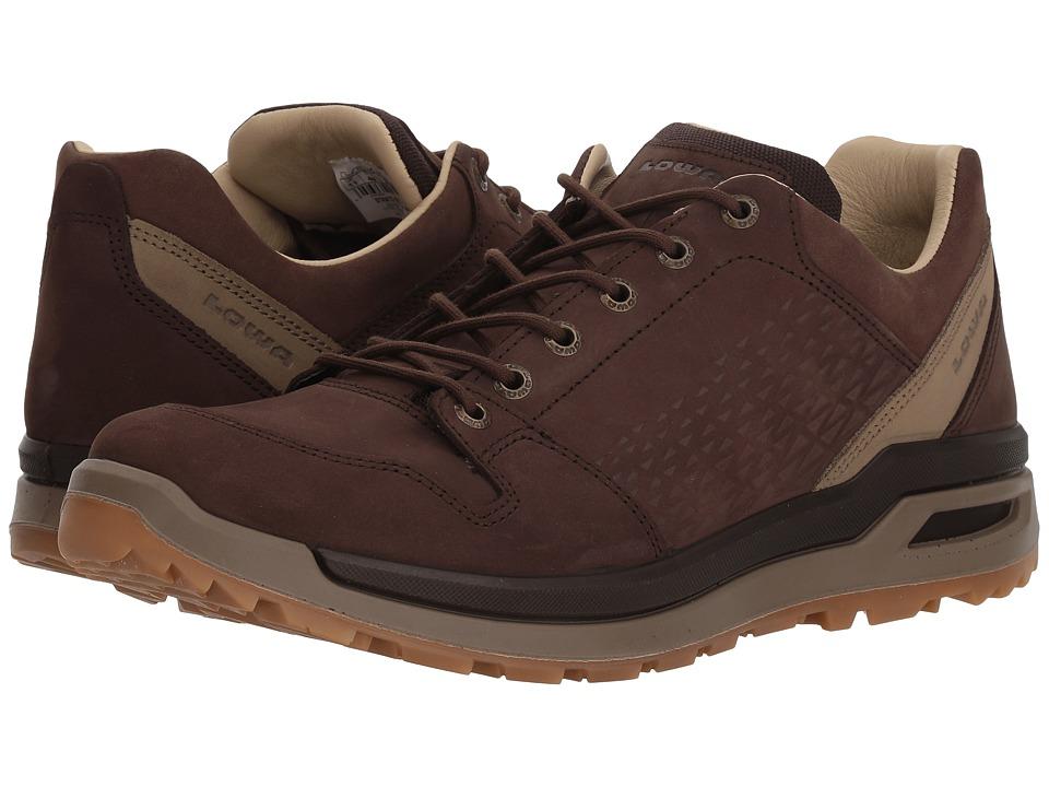 Lowa - Strato Evo LL Lo (Espresso) Mens Shoes