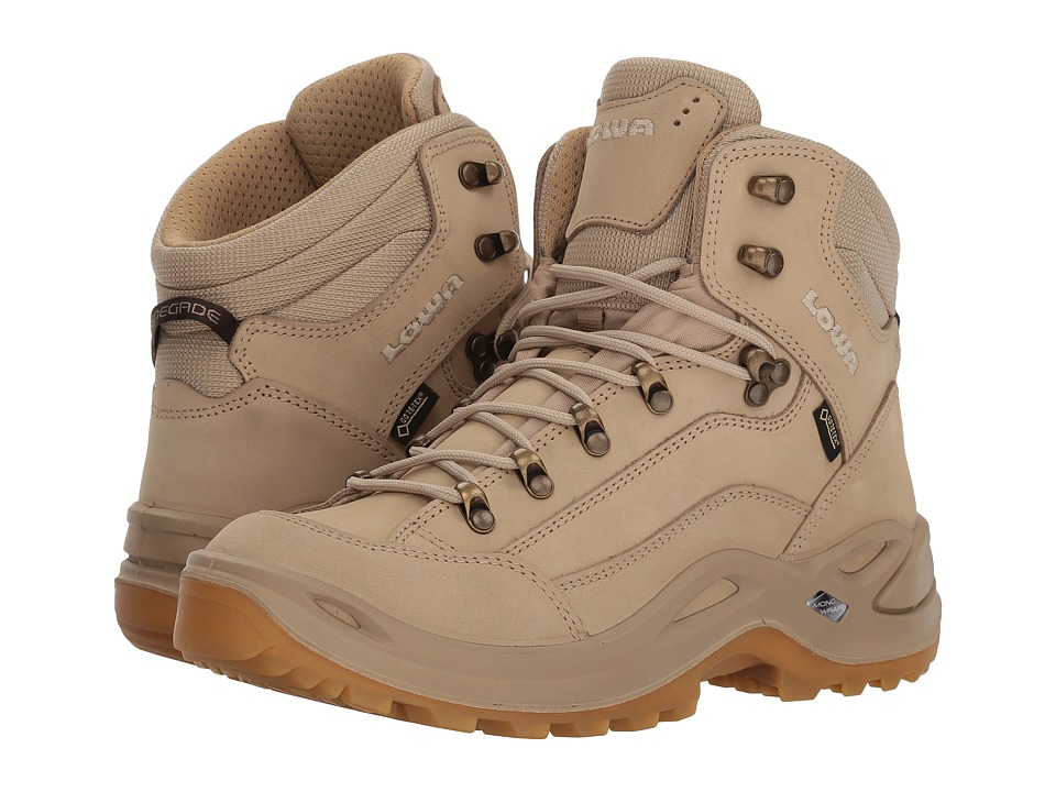 Lowa Renegade GTX Mid (Sand) Women's Hiking Boots
