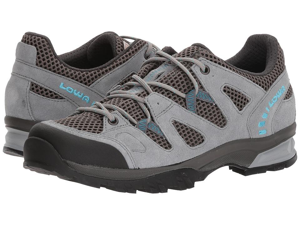 Lowa Phoenix Mesh Lo (Gray/Gray) Women's Shoes