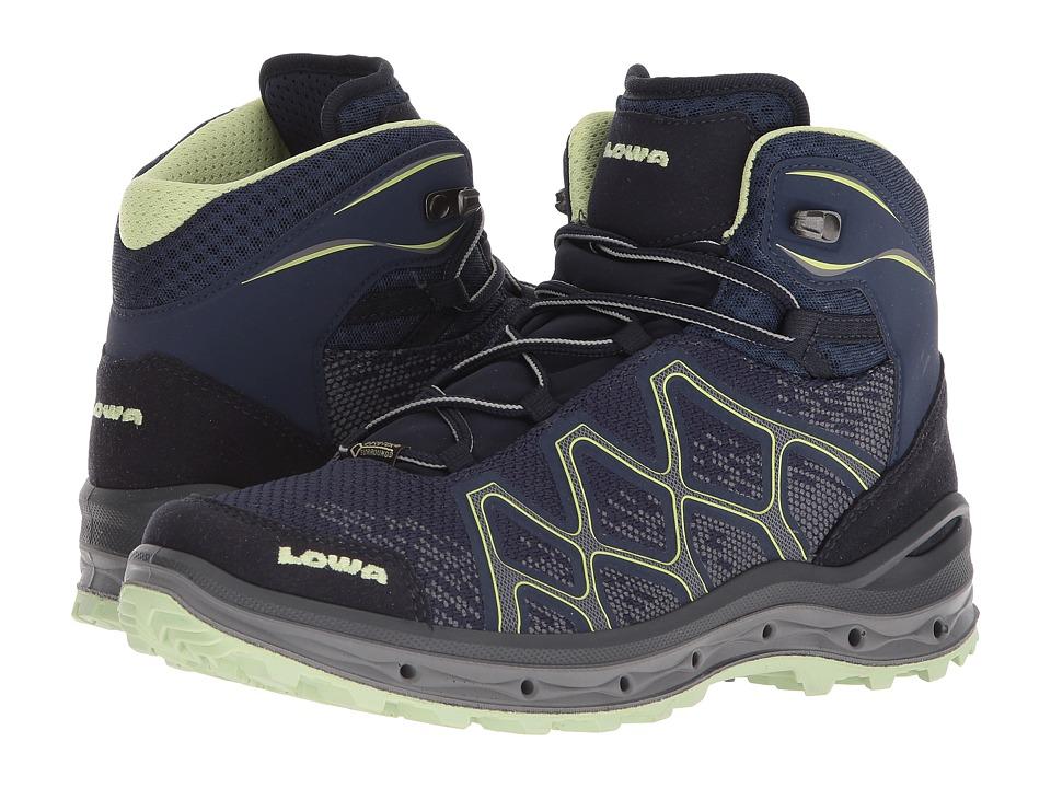 Lowa Aerox GTX(r) Mid Surround(r) (Navy/Mint) Women's Shoes