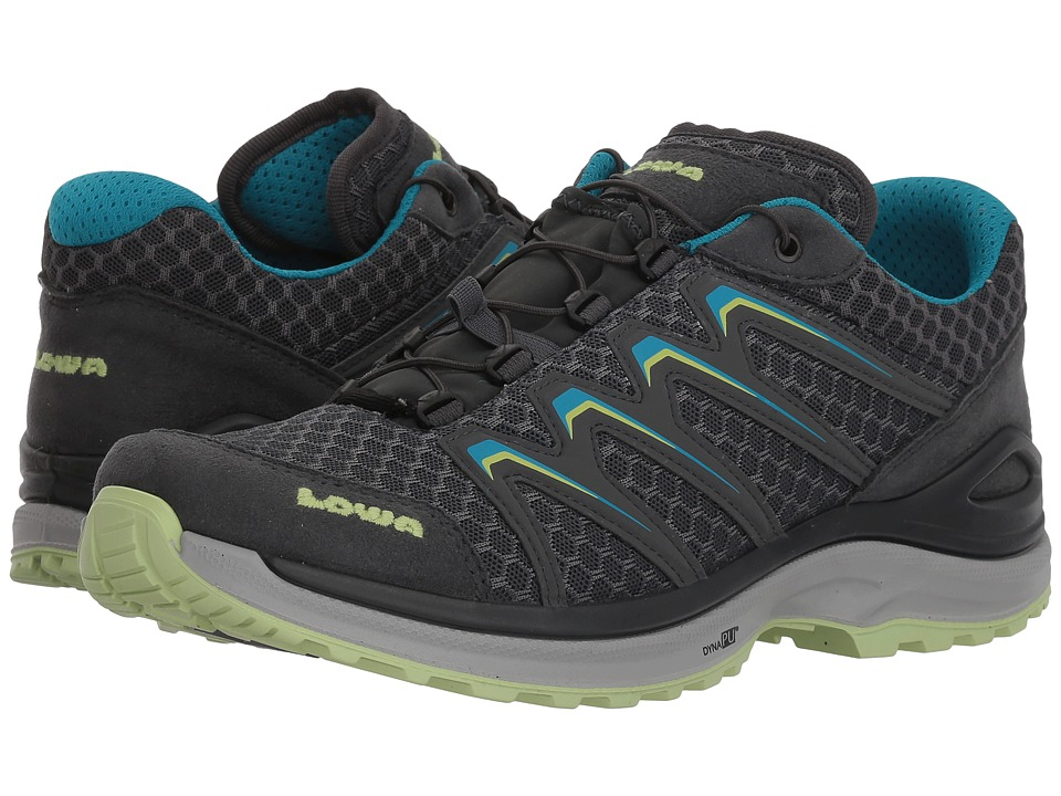 Lowa Maddox Lo (Anthracite/Mint) Women's Shoes