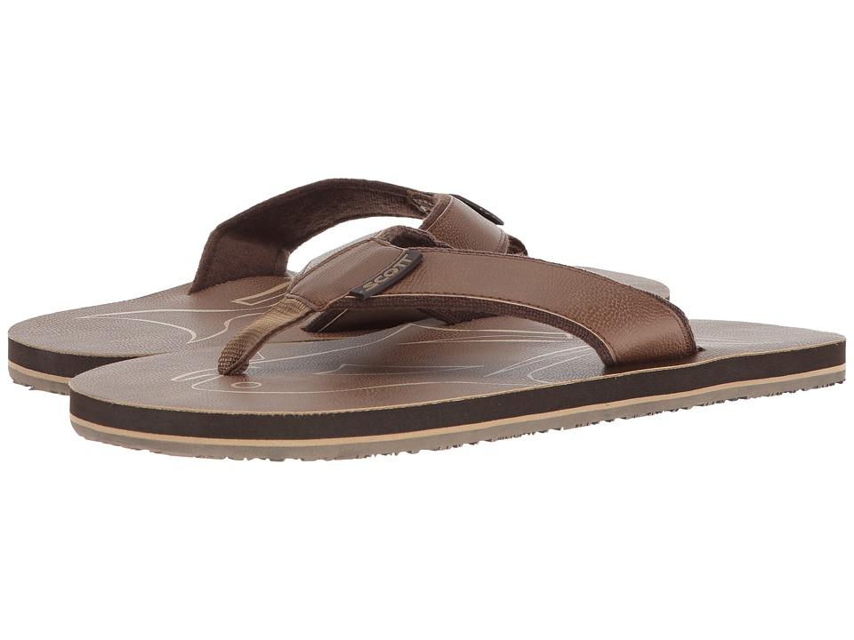 Scott Hawaii - Papio (Brown) Men's Sandals