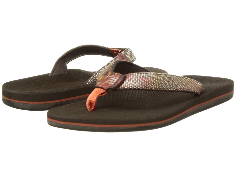 Scott Hawaii Hulili (Rust) Sandals