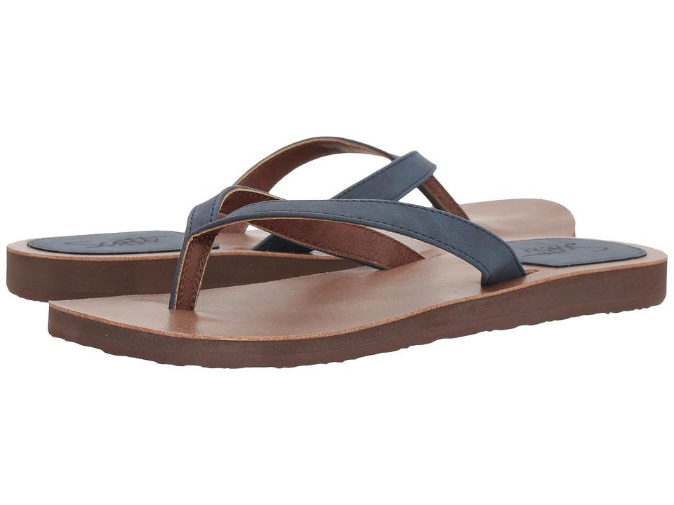 Scott Hawaii - Mohala (Navy) Women's Sandals