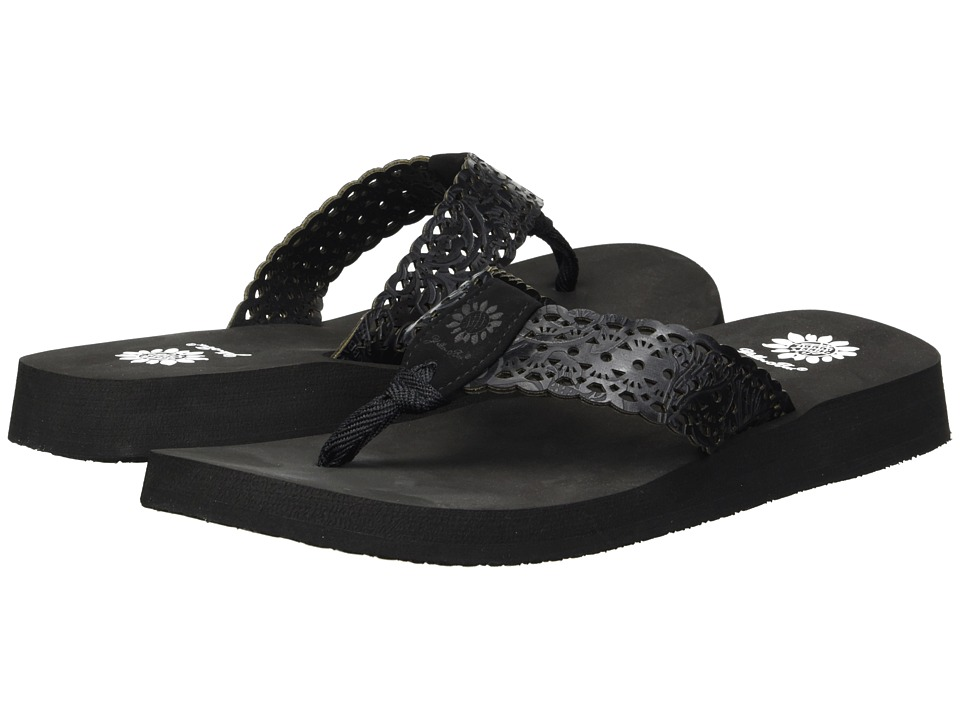 Yellow Box Wally (Black) Sandals