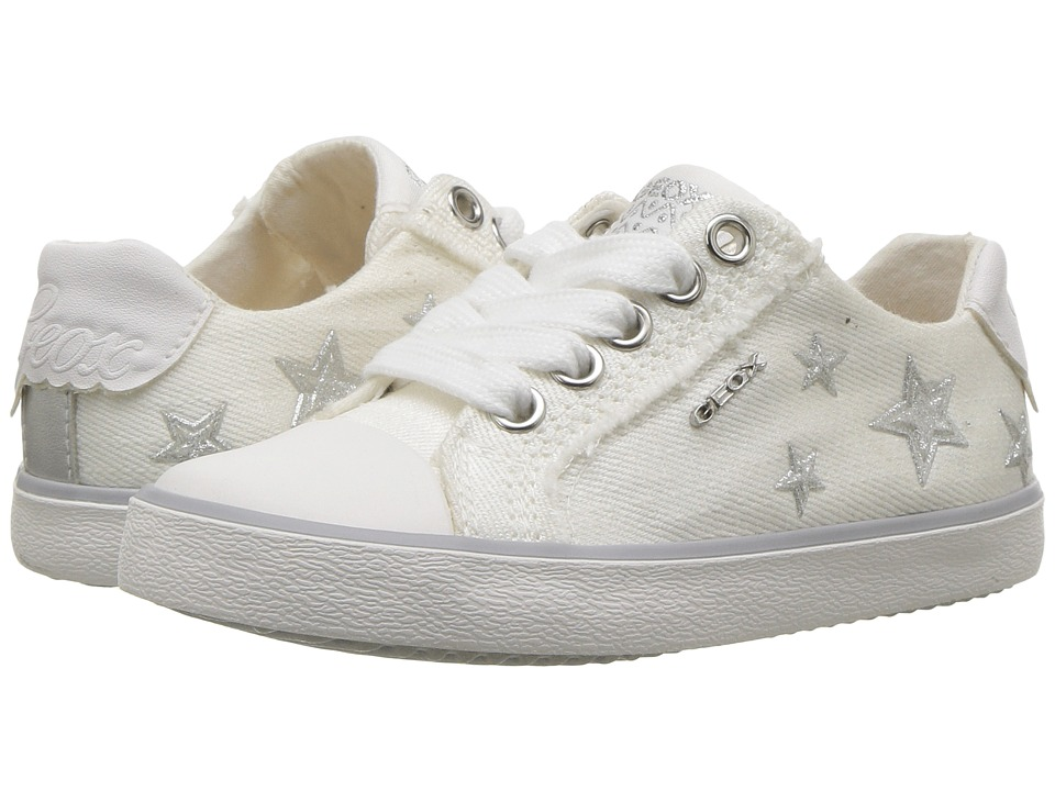 Geox Kids - Kilwi 14 (Toddler/Little Kid) (White) Girls Shoes