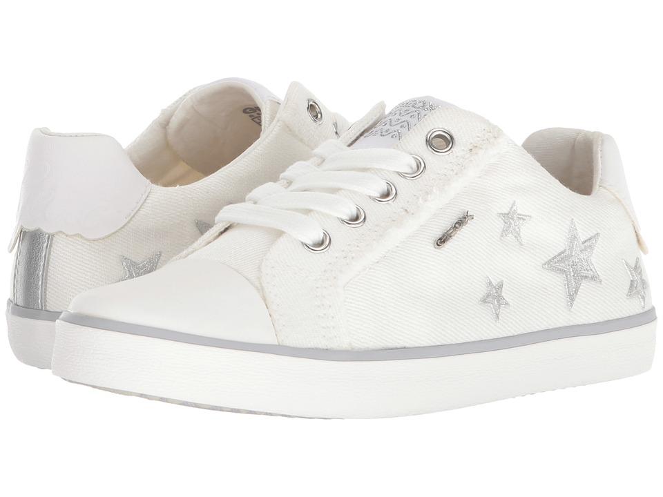 Geox Kids - Kilwi 14 (Little Kid/Big Kid) (White) Girls Shoes