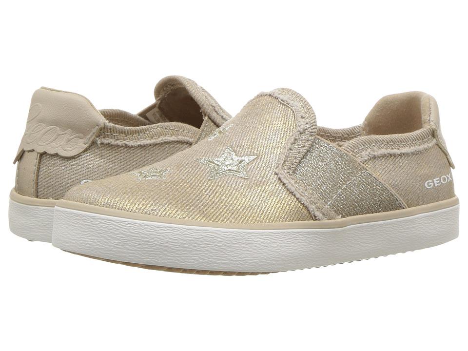 Geox Kids - Kilwi 15 (Toddler/Little Kid) (Beige) Girls Shoes