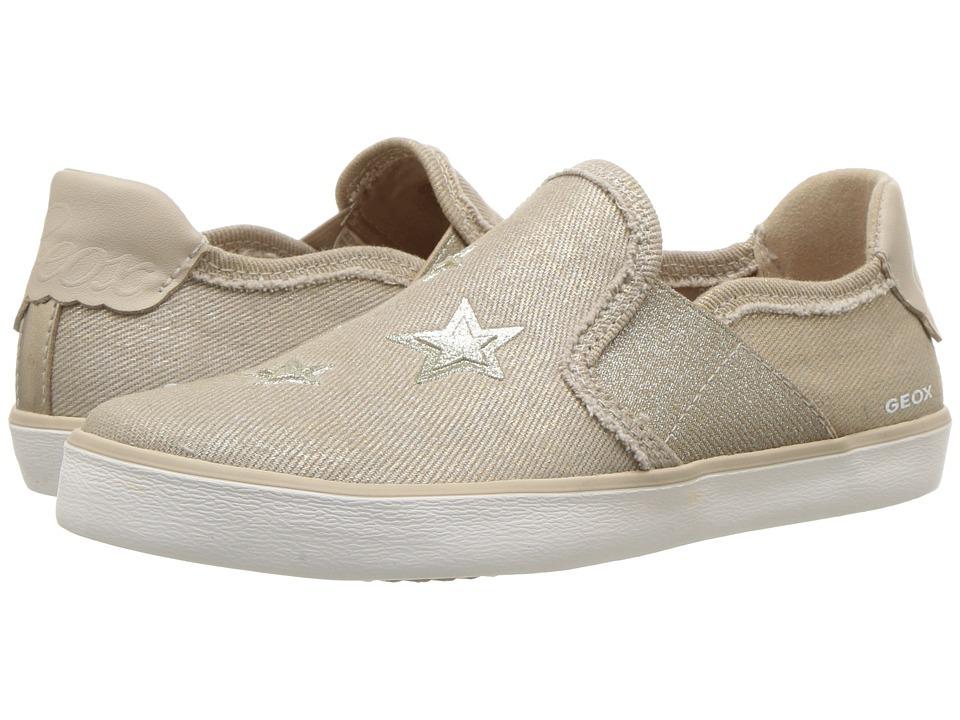 Geox Kids - Kilwi 15 (Little Kid/Big Kid) (Beige) Girls Shoes
