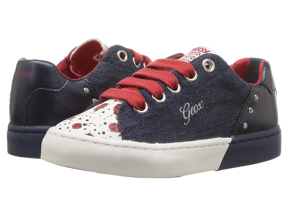 Geox Kids - Ciak 59 (Toddler/Little Kid) (Jeans/Navy) Girls Shoes