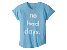 The Original Retro Brand Kids No Bad Days Rolled Sleeve Slub T-Shirt (Big Kids)