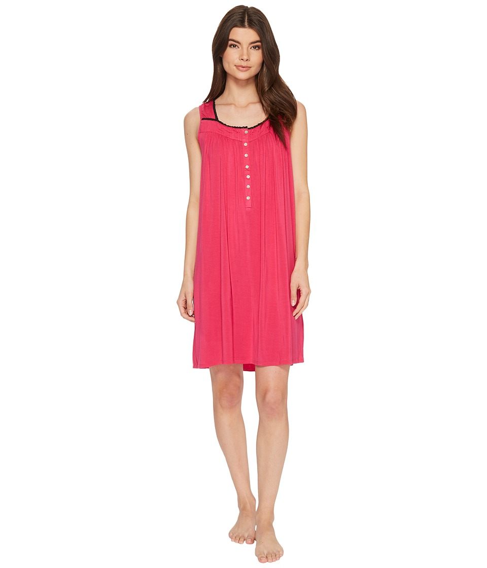 Eileen West - Modal Short Chemise (Solid Peony) Womens Pajama
