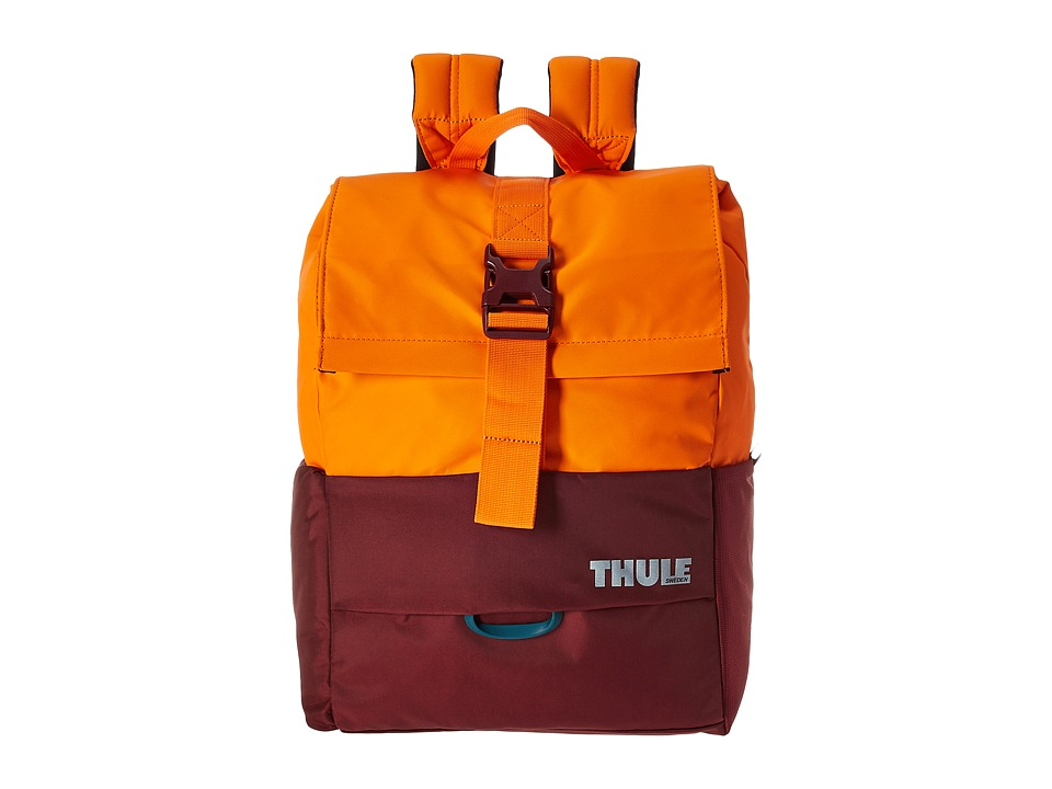 Thule - Departer Backpack 23L (Dark Bordeaux/Vibrant Orange) Backpack Bags