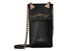 Kate Spade New York Cat North/South Crossbody Phone Case