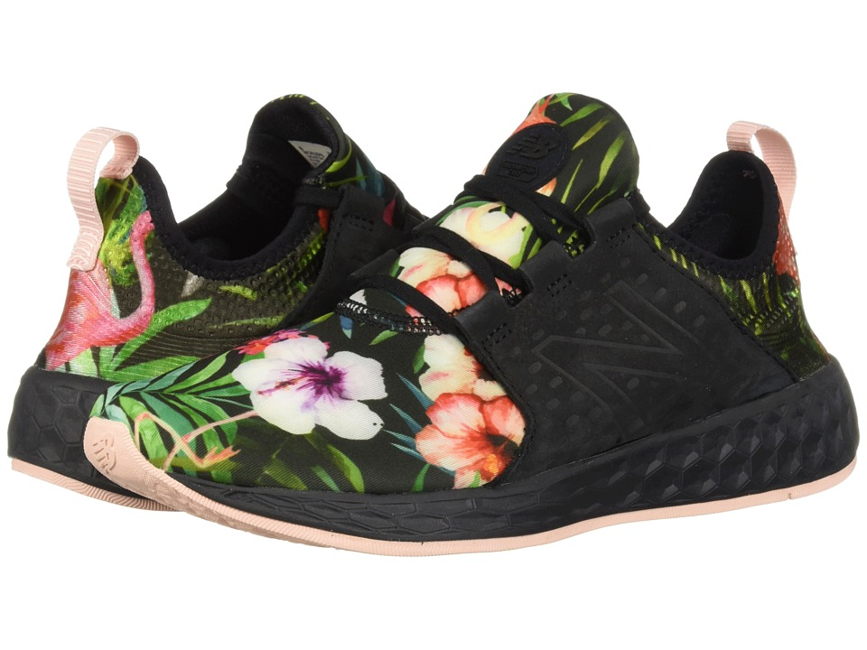 New Balance Fresh Foam Cruz v1 (Black/Sunrise Glo) Women's Running Shoes