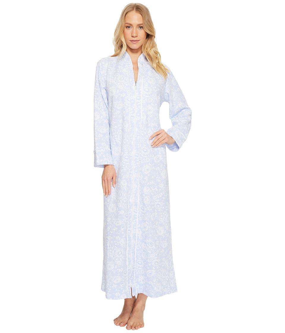 Carole Hochman - Quilted Zip Robe (Modern Walls) Womens Robe
