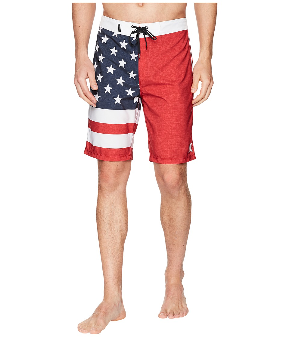 Hurley - Phantom Cheers 20 Boardshorts (Gym Red) Mens Swimwear